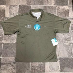 Men's NWT Columbia PFG Omni shade polo shirt